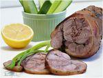 Рецепты из мяса.  Вкусные рецепты мясных блюд. свиная рулька - 1шт...