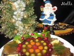 Холодец к Рождеству из  индюшиных шеек (+ вариант подачи)