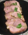Мясо в горчичном маринаде.