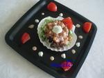 Тар-тар из лосося с японским уклоном